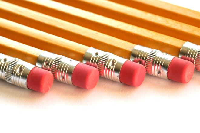 Detalle de unos lápices
