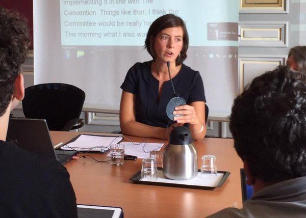 An-Sofie Leenknecht, especialista en derechos humanos y miembro del equipo del EDF