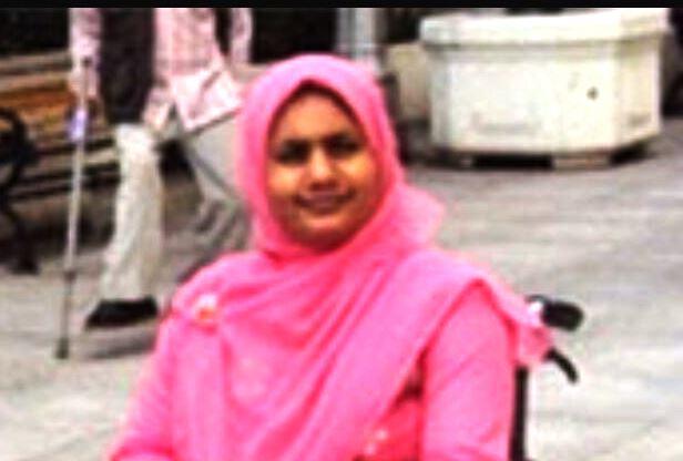 Ashrafuf Nahar Misti, la directora ejecutiva de Woman with Disabilities Development Foundation (WDDF)