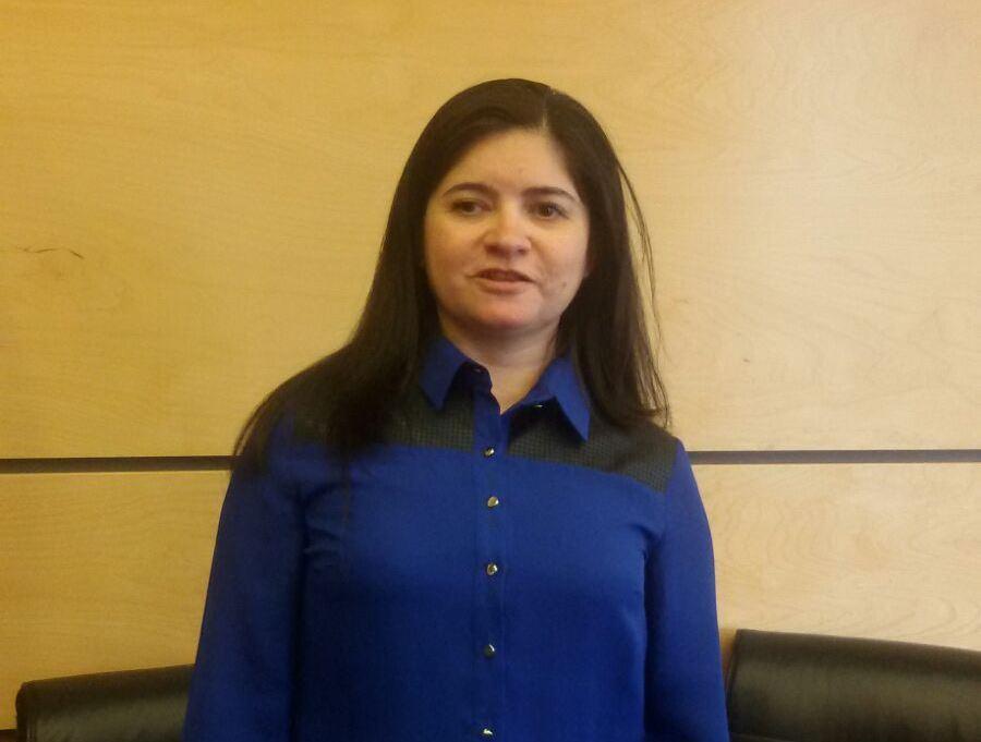 Katherine Muñoz, presidenta de la Unión Nacional de Instituciones de Personas Ciegas de Chile