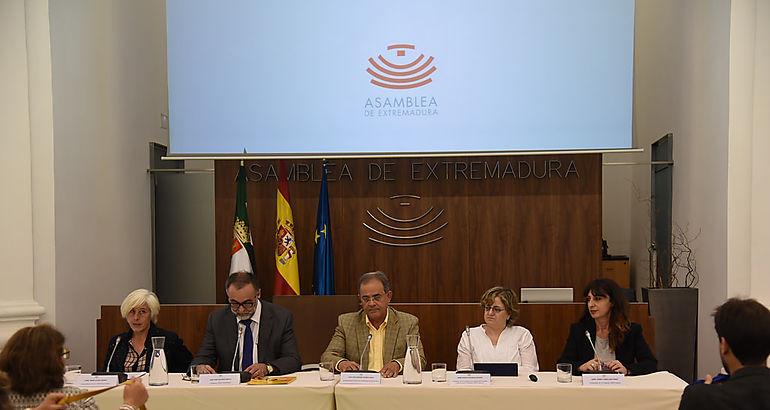 Momento de la presentación de la Fundación CERMI Mujeres en Extremadura