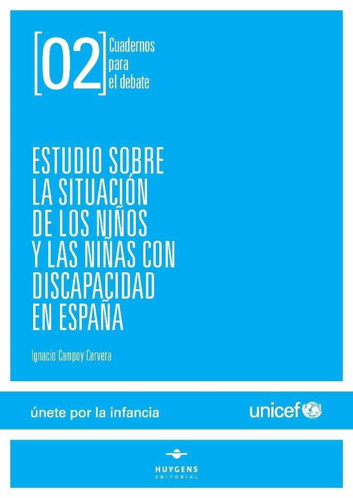Portada del 'Estudio sobre la situación de los niños y niñas con discapacidad en España'