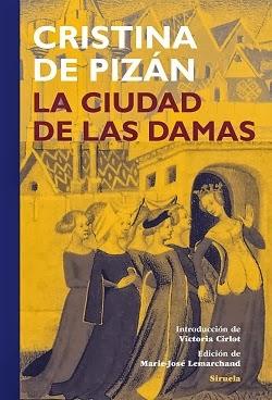 Detalle de la portada de 'La ciudad de las damas', de Cristina Pizán
