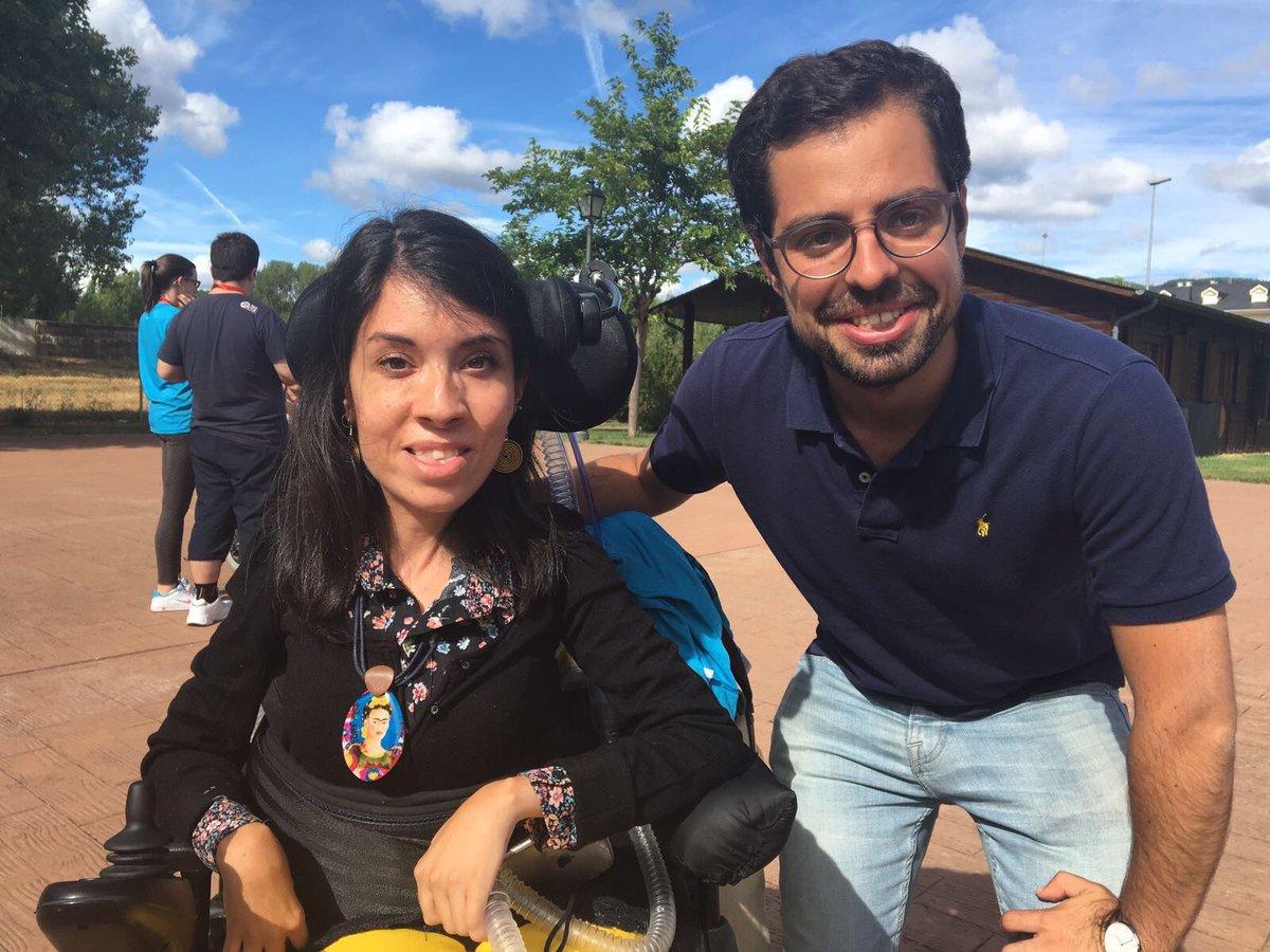Ana Fernández Sancho, Premio Nacional de Juventud 2016 (Twitter Aspaym Castilla y León)