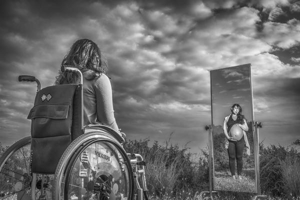 Segundo premio del 'I Concurso de Fotografía Generosidad' de la Fundación CERMI Mujeres