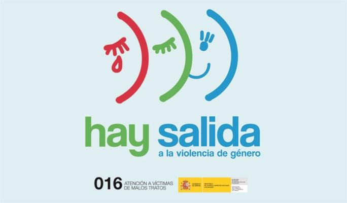 """Cartel de la campaña """"Hay salida a la violencia de género"""""""