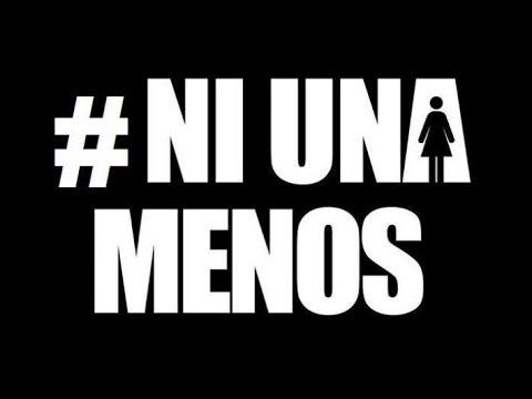 logotipo #NI UNA MENOS