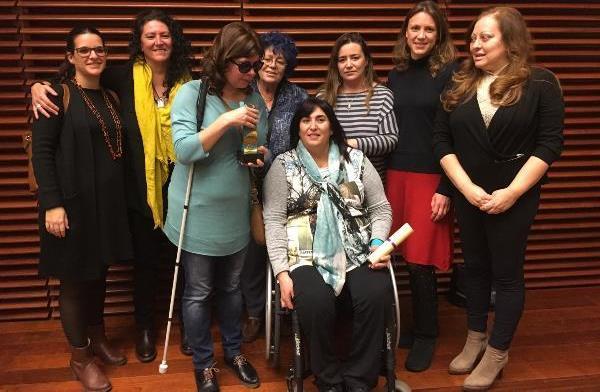 Integrantes de la Comisión de la Mujer de CERMI Comunidad de Madrid