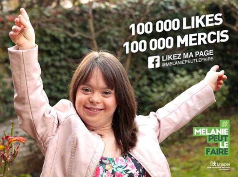 Una joven con síndrome de Down, presentadora del tiempo en Francia