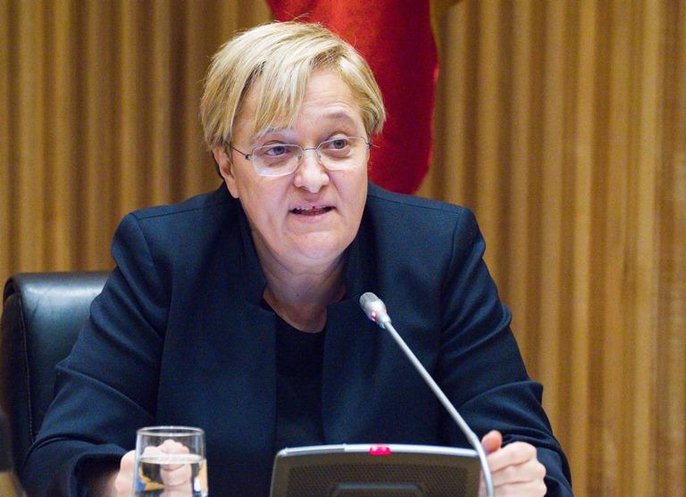 Ángeles Álvarez, diputada por Madrid y portavoz de Igualdad del Grupo Socialista en Congreso de los Diputados