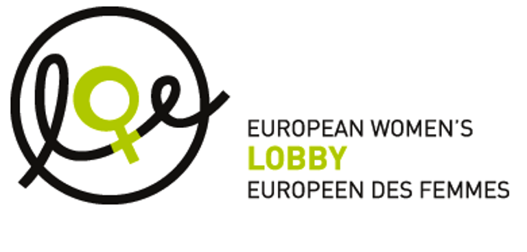 Logo del Lobby Europeo de Mujeres