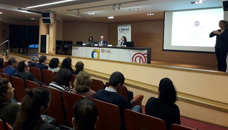 Momento de la presentación de la FCM en Andalucía