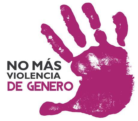 Logotipo de la campaña 'No más violencia de género'
