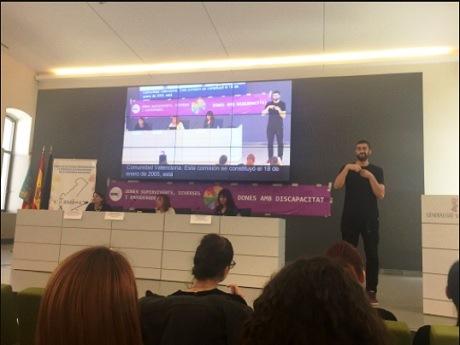 Presentada la Fundación CERMI Mujeres en la Comunidad Valenciana