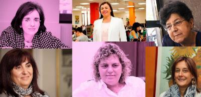 Composición de varias mujeres entrevistadas en el 'cermi.es semanal'