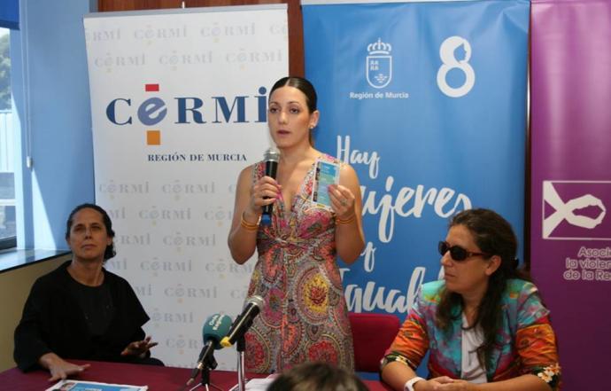 Alicia Barquero, Directora General de la Mujer de la región de Murcia