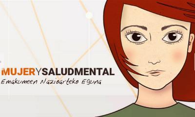 Detalle de la campaña de Mujer y Salud Mental de Fedeafes