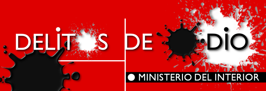 Cartel del Ministerio del Interior contra los delitos de odio