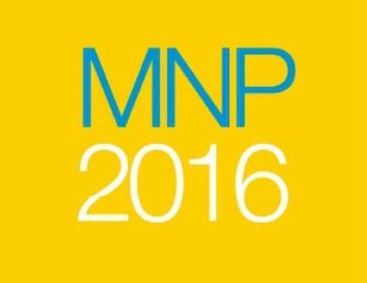 Detalle del logotipo de MNP 2016 del Defensor del Pueblo