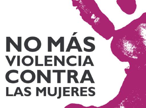 Logotipo de No más violencia