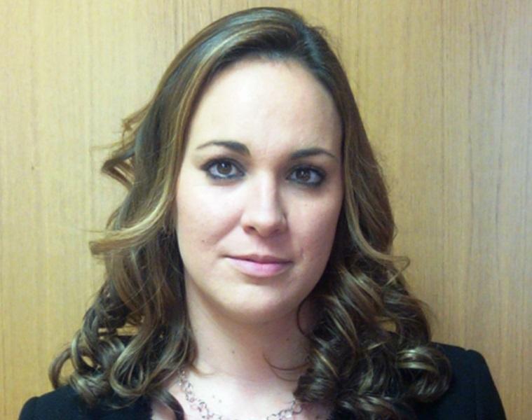 Aránzazu Casado, presidenta de la nueva Comisión de la Mujer de Castilla León