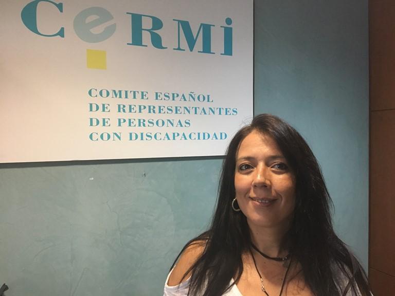 Esperanza Adrià, coordinadora de CERMI Comunidad Valenciana