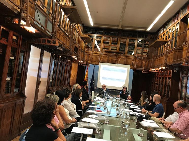 La Fundación CERMI Mujeres imparte un taller sobre violencia contra mujeres con discapacidad al personal del Ministerio de Justicia