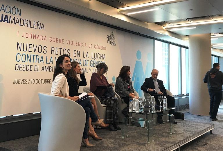Jornada sobre violencia de género organizada por Mutua Madrileña y  la Asociación Profesional de la Magistratura