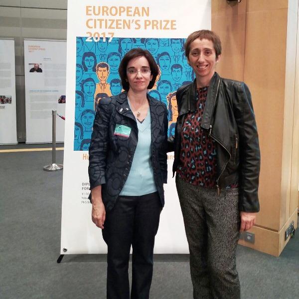 El CERMI recoge en la Eurocámara su 'Premio del Ciudadano Europeo 2017'
