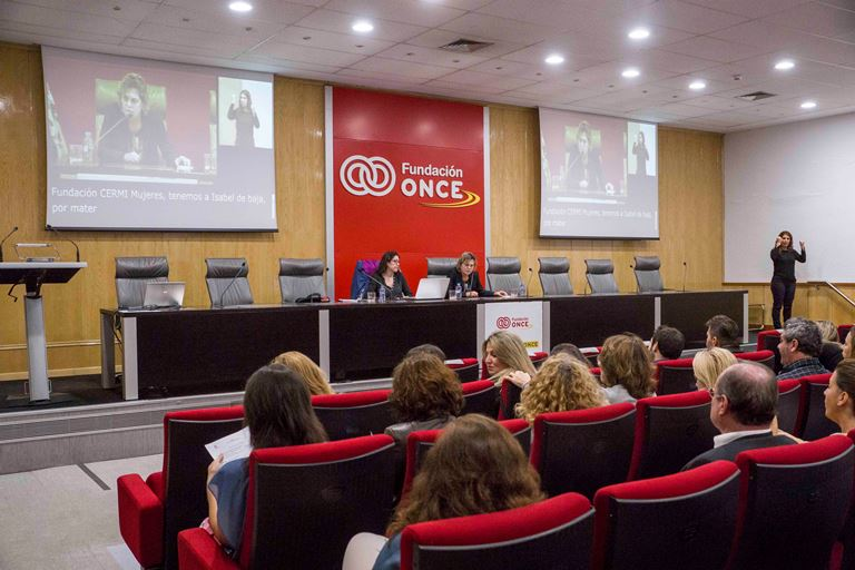 Sesión de formación para el personal de la Fundación ONCE e Inserta sobre perspectiva de género y discapacidad