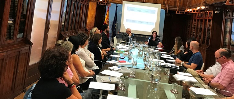 La Fundación CERMI Mujeres imparte un taller sobre violencia contra mujeres con discapacidad a personas del Ministerio de Justicia