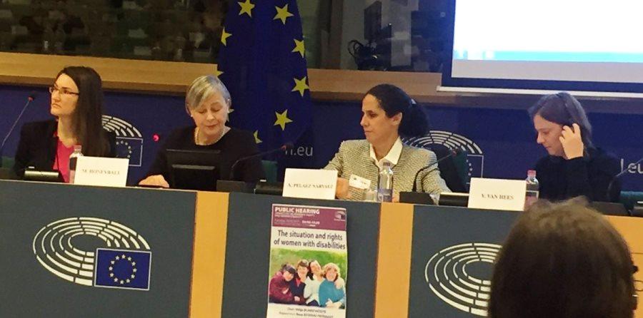 """La Fundación CERMI Mujeres urge a la UE a """"no dejar atrás"""" a las mujeres y niñas con discapacidad"""