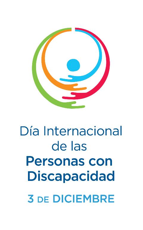 Logotipo del Día Internacional y Europeo de las Personas con Discapacidad