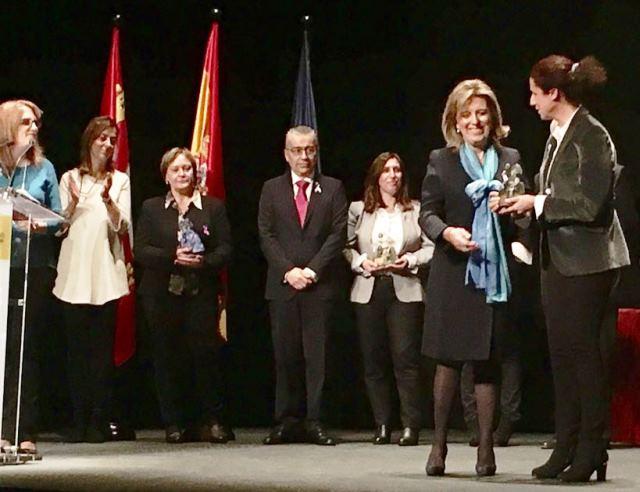 Ana Peláez, vicepresidenta ejecutiva de la FCM, galardonada por su lucha contra la violencia machista