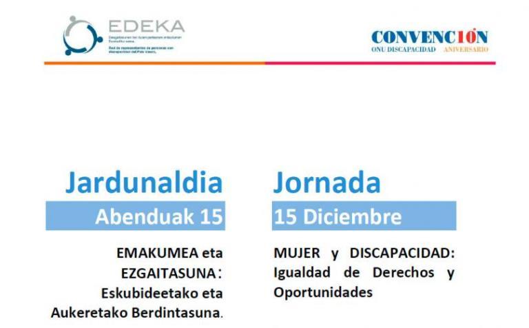 EDEKA celebra la jornada 'Mujer y discapacidad: igualdad de derechos y oportunidades' con representantes institucionales