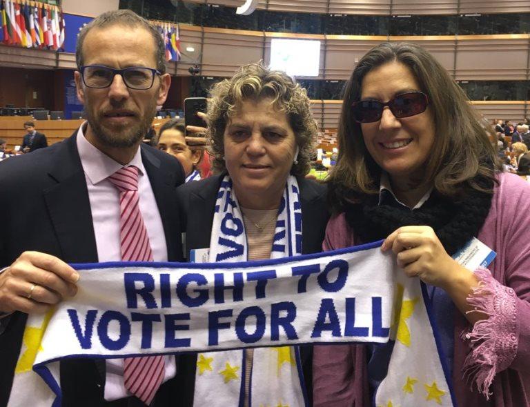 """El Parlamento Europeo sobre el derecho al voto de las personas con discapacidad: """"No es una cuestión de solidaridad, sino de libertad"""""""