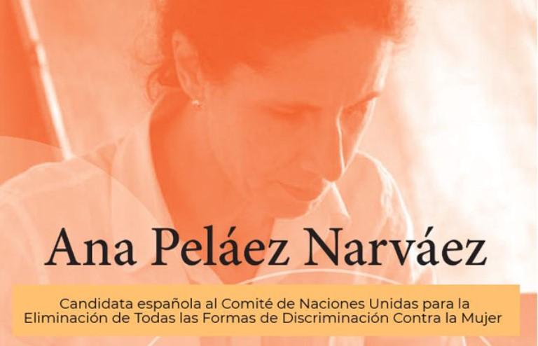 Ana Peláez candidata a la CEDAW
