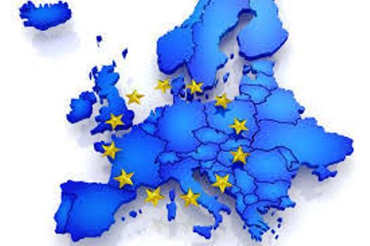 Mapa de los países miembros de la UE