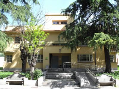 Antiguo colegio de húerfanos de la Policía Nacional