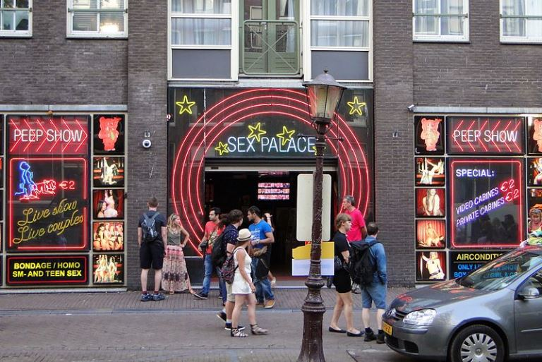 Detalle de una calle holandesa