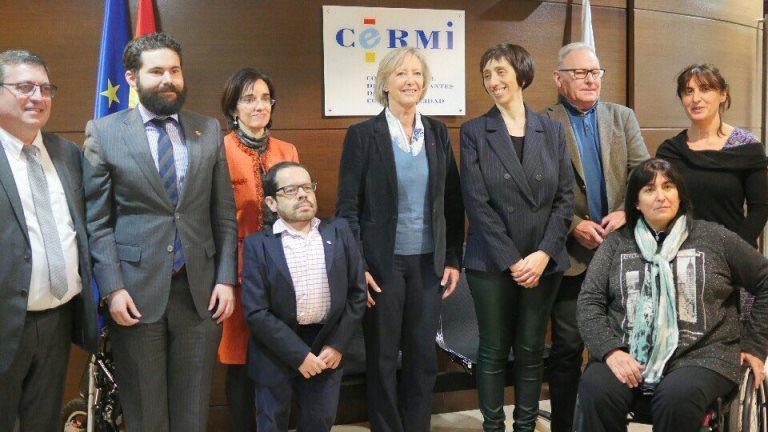La Fundación CERMI Mujeres y el CERMI repasan con la secretaria de Estado de Discapacidad de Francia la agenda política de las personas con discapacidad y sus familias