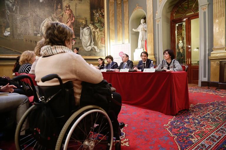 Momento de la II Conferencia Intersectorial de Mujeres con Discapacidad