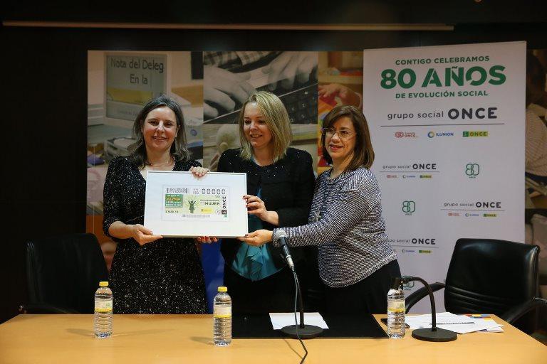 CERMI CLM celebró el 'Foro mujer y discapacidad' para acoger la presentación del cupón de la ONCE dedicado al Día de la Mujer