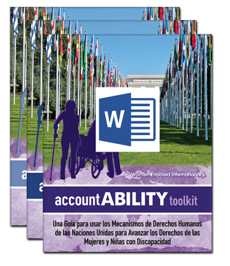 Kit de herramientas de accountABILITY: recurso sobre derechos humanos, género y discapacidad
