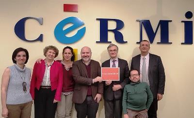 La Fundación CERMI Mujeres y el CERMI abordan la agenda política de la discapacidad con el Consejo Francés de la Discapacidad