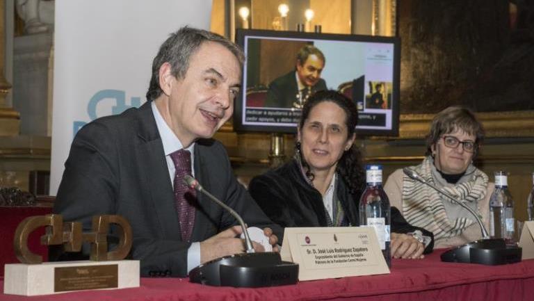 José Luis Rodríguez Zapatero miembro del Patronato de la Fundación CERMI Mujeres