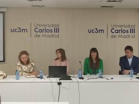 seminario 'Mujeres con discapacidad y violencia de género: acceso a la justicia', celebrada en la Universidad Carlos III de Madrid