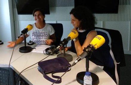 Ana Peláez, en una entrevista al programa 'A vivir que son dos días', de la Cadena SER