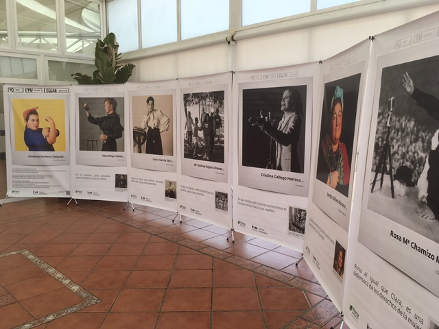 Exposición #YoTuEllas, organizada por Plena inclusión Extremadura y financiada por el Instituto de la Mujer de Extremadura