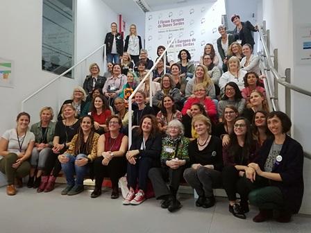 Delegadas europeas en la sede de Fesord CV